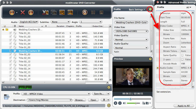 Mac DVD to MP3 music