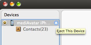 How backup iPhone contacts to Mac